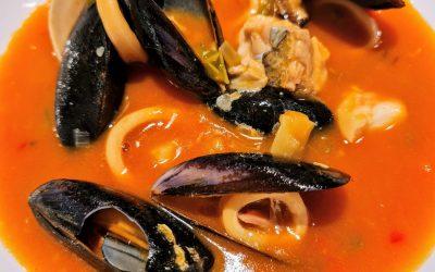 La sopa marinera del KRAM és un plat que hem de posar a la llista de prioritats.